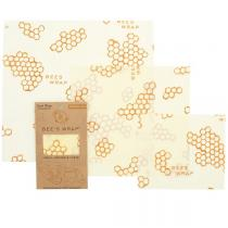 Bee's Wrap - Emballage réutilisable 3 tailles Original