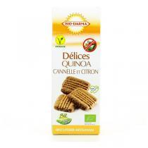 Bio Darma - Biscuits Délices quinoa, cannelle et citron bio - 110 g