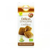 Bio Darma - Biscuits Délices d'avoine à la cannelle bio - 110 g