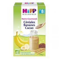 HiPP - Céréales bananes cacao dès 8 mois x 250g