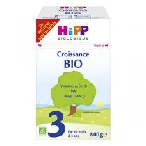 Hipp - Lait de croissance Bio 3 dès 10 mois 800g