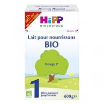 Hipp - Lait pour nourrissons Bio Oméga 3 de 0 à 6 mois 600g