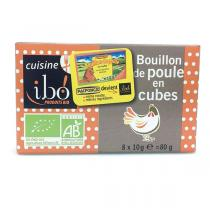 Ibo! - Bouillon de poule cubes Bio