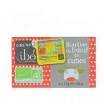 Ibo! - Bouillon de boeuf cubes Bio