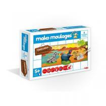 Mako moulages - Coffret 3 moules - Destination Savane -Dès 5ans