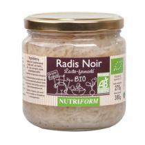 Nutriform - Radis noir Lacto-fermenté BIO - 380g