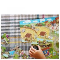 Pirouette cacahouete - Mon puzzle Moyen-âge 6-11ans