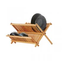 Point virgule - Egouttoir à vaisselle en bambou 42 x 33 cm