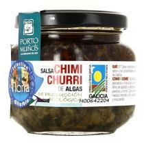 Porto Muiños - Sauce Salsa Chimi Churri aux algues bio - Pot de 170 g