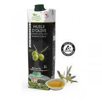 Quintesens - Huile d'Olive Vierge Extra Bio - Emballage Eco-conçu 1L
