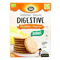 Santiveri - Biscuits digestive sans gluten bio - 360 g