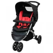 Tex Baby - Poussette 4 roues + Siège Auto groupe 0+ Rouge