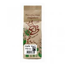 Torréfaction Dagobert - Café Vert Pérou bio équitable grains - 300g