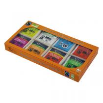 Touch Organic - Coffret Sélection 8 Thés bio naturels et parfumés - 8 x 6 sachet