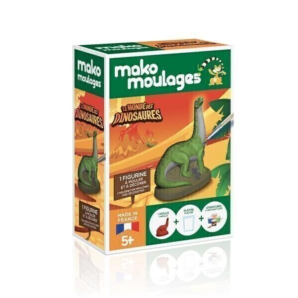 Mako moulages - Diplo le diplodocus -Des 5ans