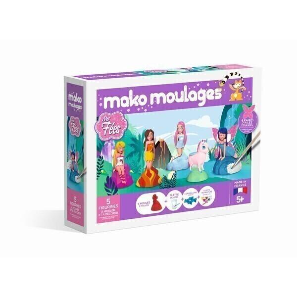 Mako moulages - Coffret 5 moules - Mes fees - Des 5 ans