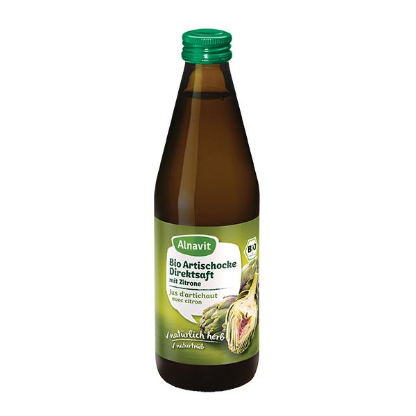 Jus d'artichaut avec citron bio 330 ml Alnavit | Acheter