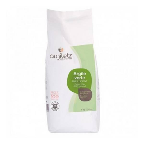 Argiletz - Argile verte moulu fine - 1 kg