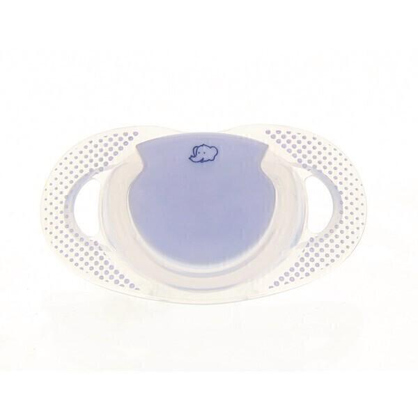 Bébé confort - Sucette natural physio Bleu silicone 6/18m - x2