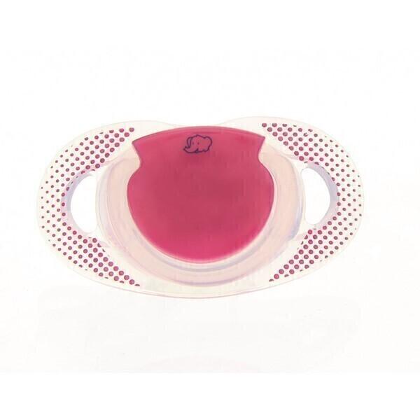 Bébé confort - Sucette natural physio fuschia silicone 18/36m - x2
