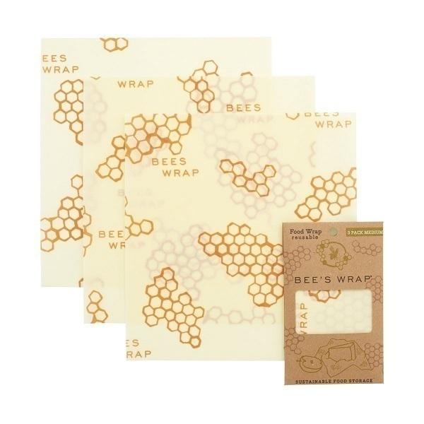 Bee's Wrap - Lot de 3 emballages Medium Original