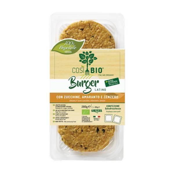 Cosi Bio - Burger végétal Latino - 200g