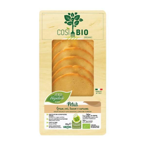 Cosi Bio - Pétali au blé, pois chiches, citron et curcuma 80g