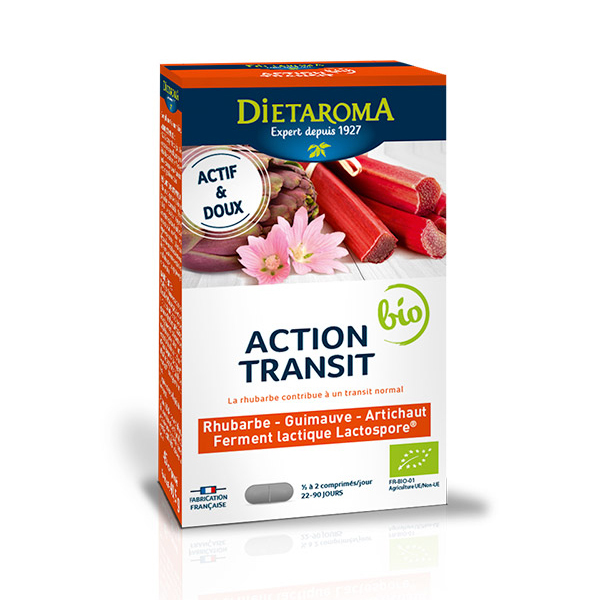 Dietaroma - Action Transit bio - 45 comprimés