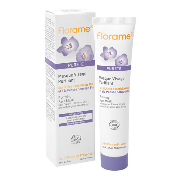 masque purifiant visage 65ml florame acheter sur. Black Bedroom Furniture Sets. Home Design Ideas