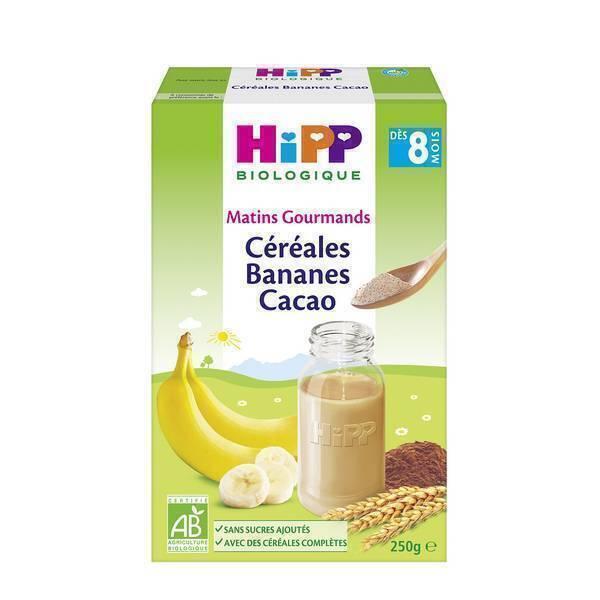 26e15cfc771682 Céréales Bio Bananes Cacao   Hipp   Natiloo.com   La référence Bien ...