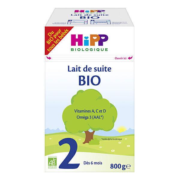 Hipp - Lait de suite 2ème âge Bio dès 6 mois 800g
