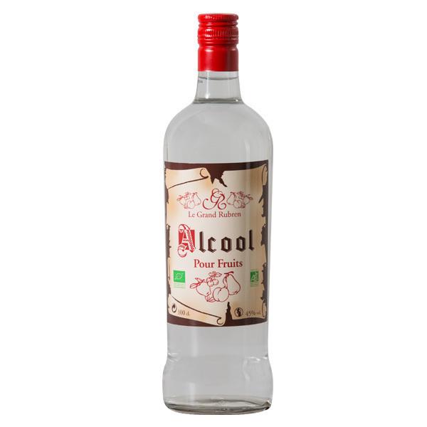 Le Grand Rubren - Alcool pour fruits Bio - 1L