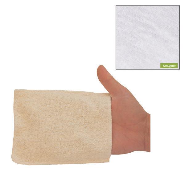 Les Tendances d'Emma - 5 gants de change lavables eucalyptus biface