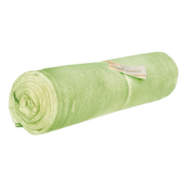 drap de bain bambou vert les tendances d 39 emma acheter sur. Black Bedroom Furniture Sets. Home Design Ideas
