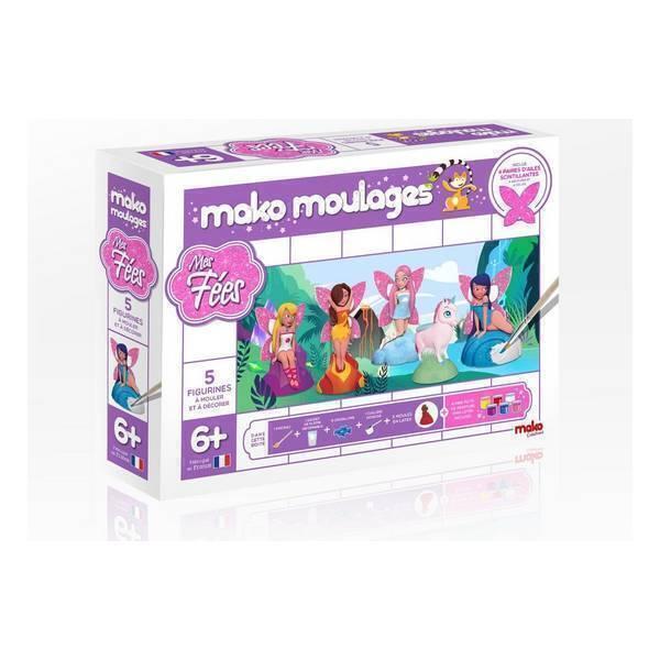 Mako moulages - Coffret 5 moules - Mes fées
