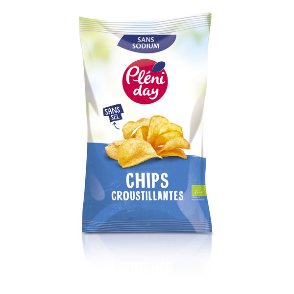 Pléniday - Chips sans sel 100 g
