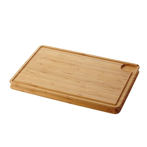 Planche d couper en bambou et rainure 45 x 30 cm point virgule acheter sur - Planche a decouper en bambou ...