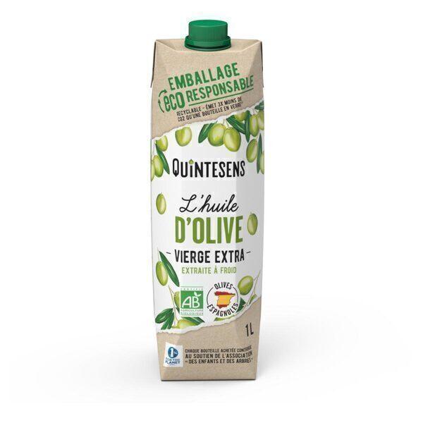 Quintesens - Huile d'olive vierge extra bio 1L
