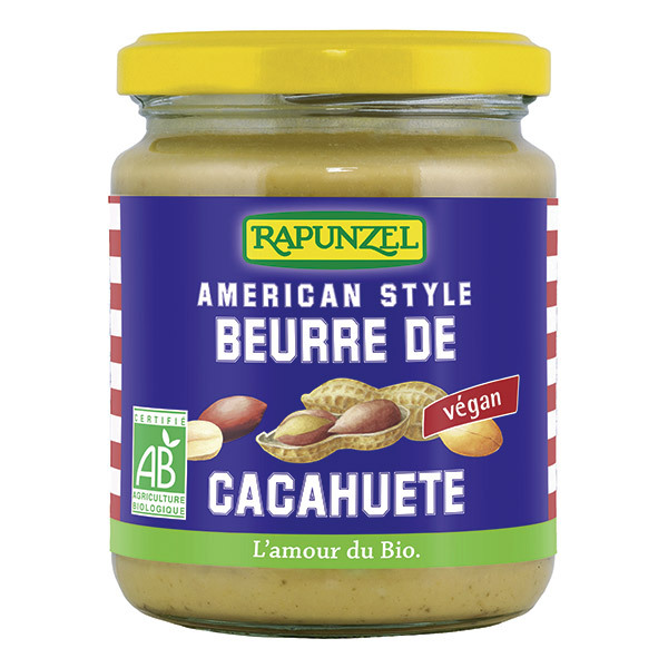 Rapunzel - Beurre de cacahuète 500 crunchy 500g