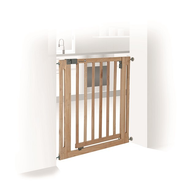 Safety 1St - Barrière U-pressure easy Close Wood