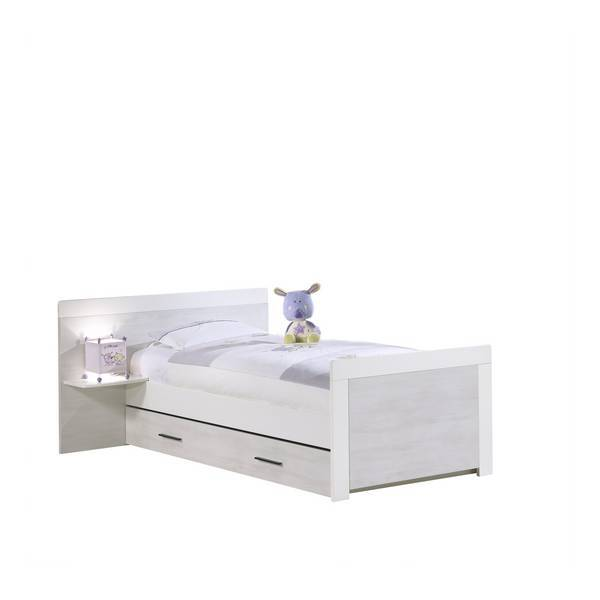 lit junior zen rivage 90x190cm sauthon la r f rence bien tre bio b b. Black Bedroom Furniture Sets. Home Design Ideas