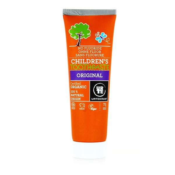 Urtekram - Dentifrice enfants sans fluor Original - 75 mL