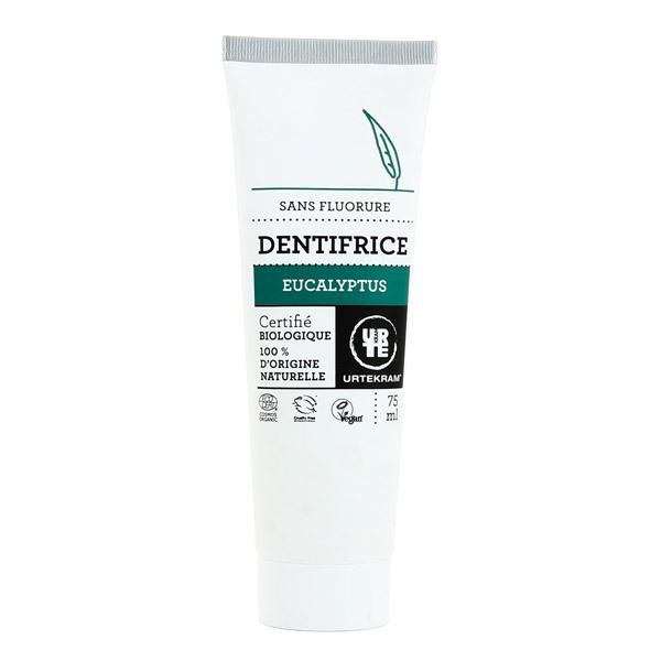 Urtekram - Dentifrice sans fluor à l'eucalyptus - 75 mL