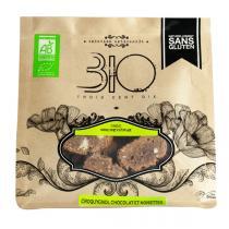 310 - Croquygnol chocolat noisettes bio et sans gluten - 150 g