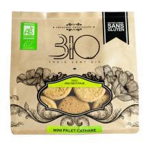 310 - Mini palet cathare bio et sans gluten - 150 g
