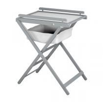 AT4 - Table à langer pliante - Gris