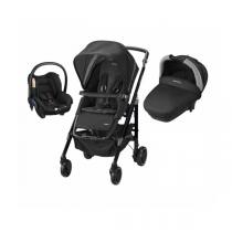 Bébé confort - Pack Trio Loola 3 Black crystal + base Citi offerte