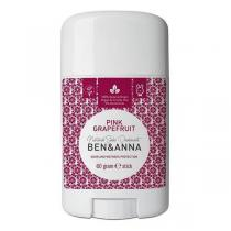Ben & Anna - Déodorant naturel Pamplemousse rose stick 60g