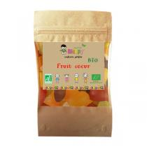 Bioopy - Fruits coeur vegan sans gluten sans lactose 100g
