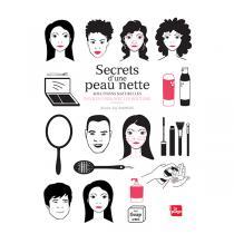Editions La Plage - Secrets d'une peau nette - Livre de Elodie-Joy Jaubert